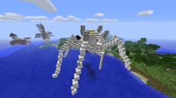 mecha spider Minecraft Map & Project