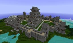 Japanese Castle 1.8 Minecraft