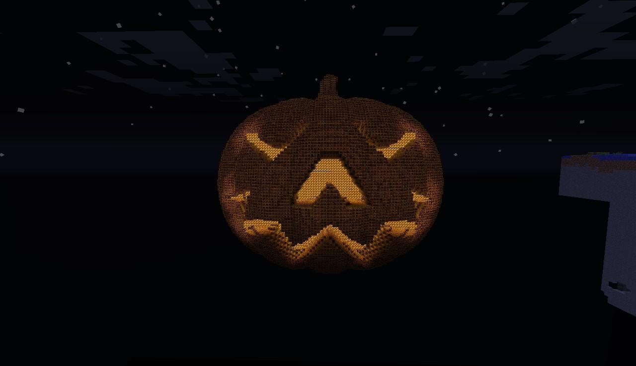 Halloween Pumpkin Minecraft
