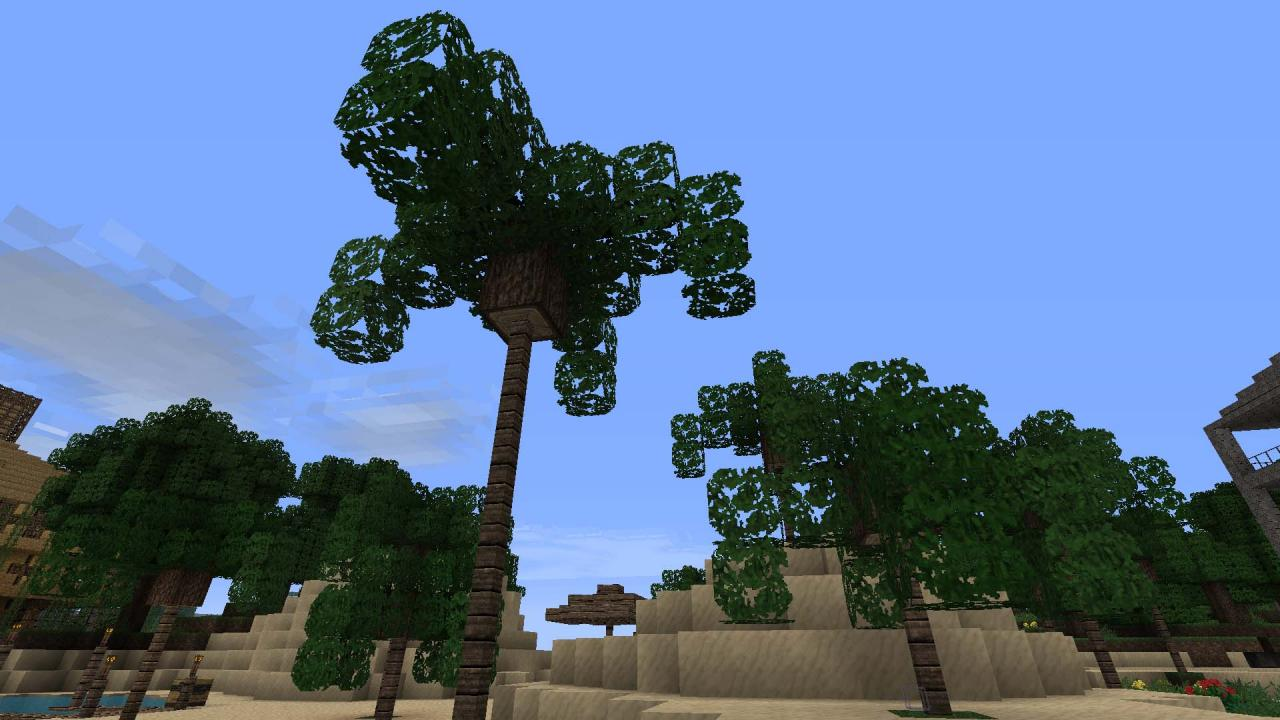 how to make trees grow in minecraft
