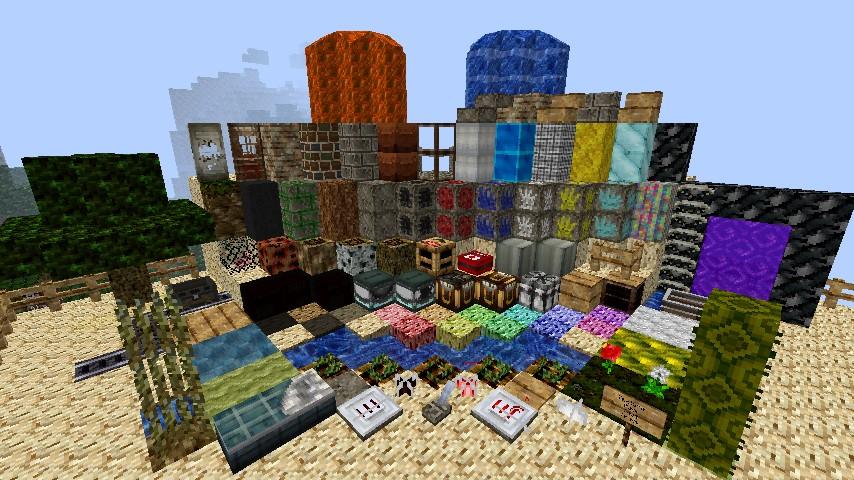 Current Block Textures