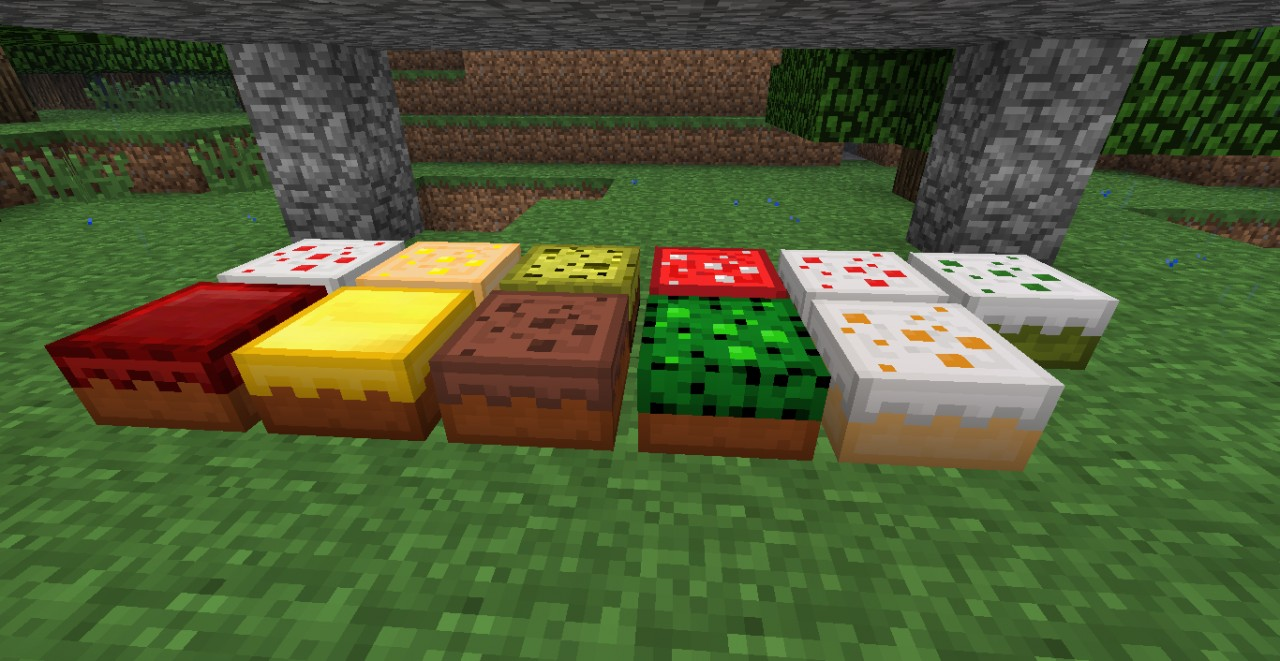The Cakes! (Plus in-game one!)