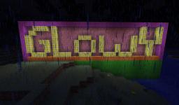 GlowyBlock! Minecraft Mod