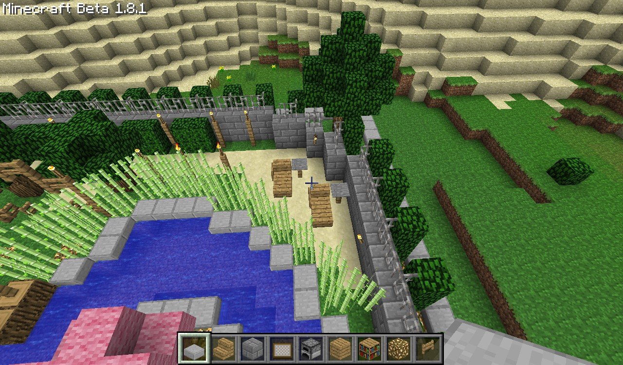 Minecraft zen garden ideas the image for Garden designs minecraft