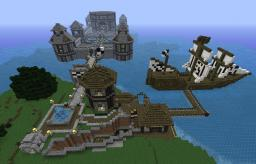 My Ravine House. Smart. Minecraft Map & Project