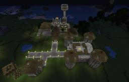 Villa with a small castle. Minecraft Map & Project