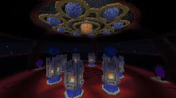 Incognito's portal area (SCHEMATIC  IS HERE!) Minecraft Map & Project
