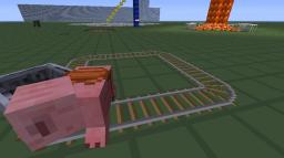 Pig powered car! Minecraft Project