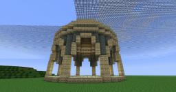 Greco-Roman Arched Dome Minecraft Map & Project