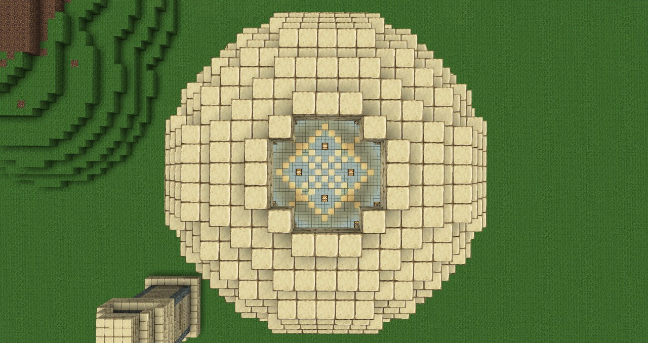 Greco Roman Arched Dome Minecraft Map