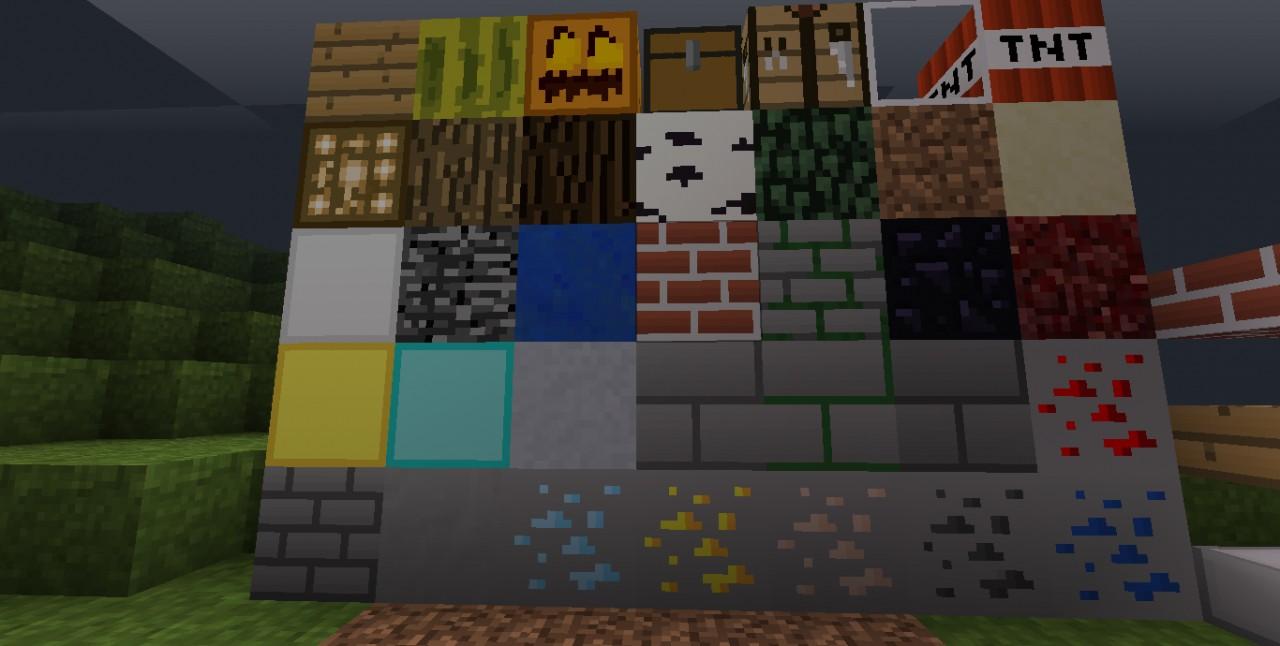 DustyCraft 16x16 NEW! Minecraft Texture Pack