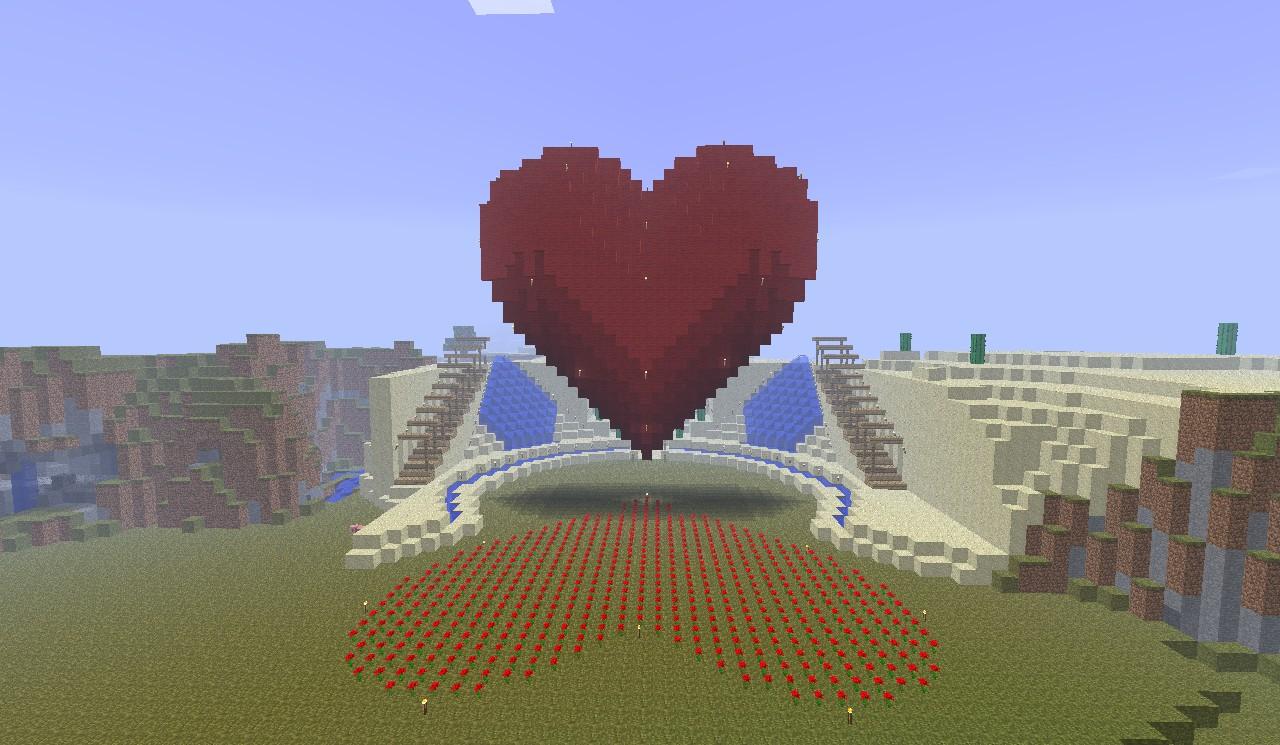 heart 3d minecraft project