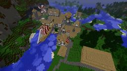 Medieval Village (in progress) Minecraft Map & Project