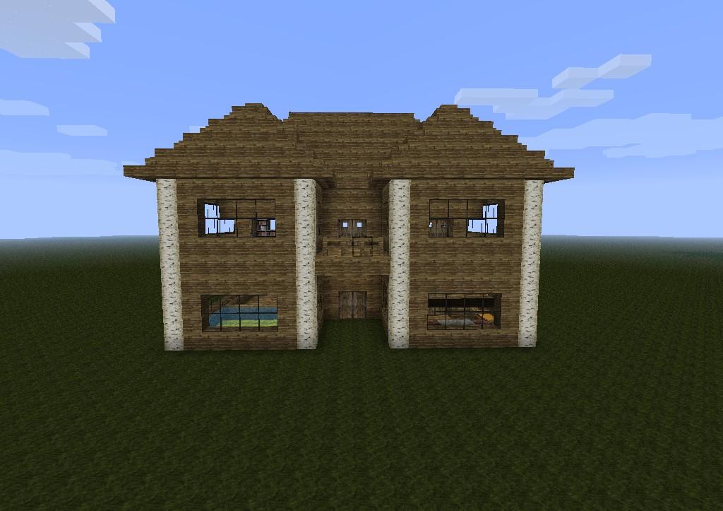 Minecraft amazing house auto design tech for Amazing modern houses minecraft