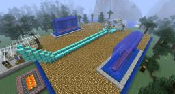 JAG's Diamond RollerCoaster! Minecraft Project