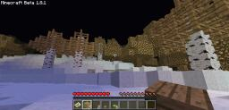Parallel Glacier Biome Minecraft Map & Project