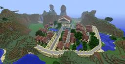 roman inspired city Minecraft Map & Project