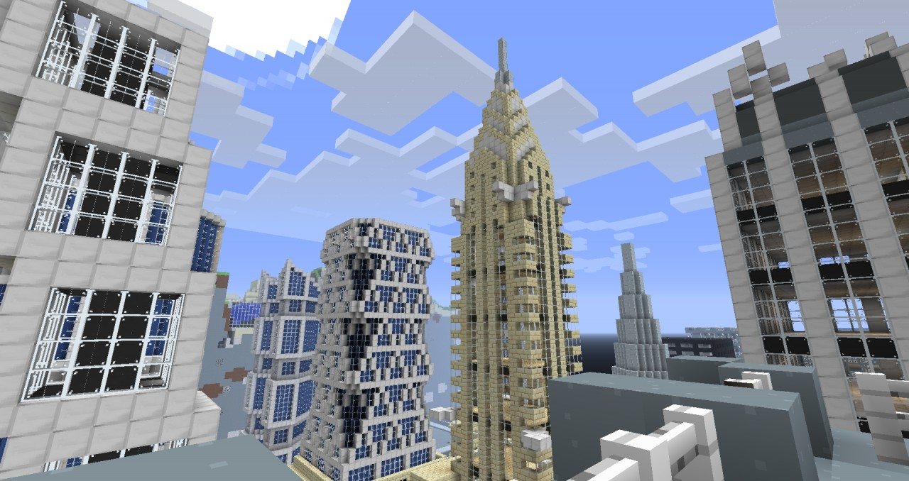 Chrysler Building Update: Olympia City Minecraft Project