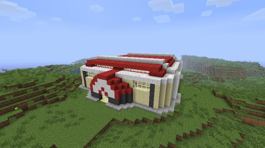 Pokemon Gym Minecraft Project