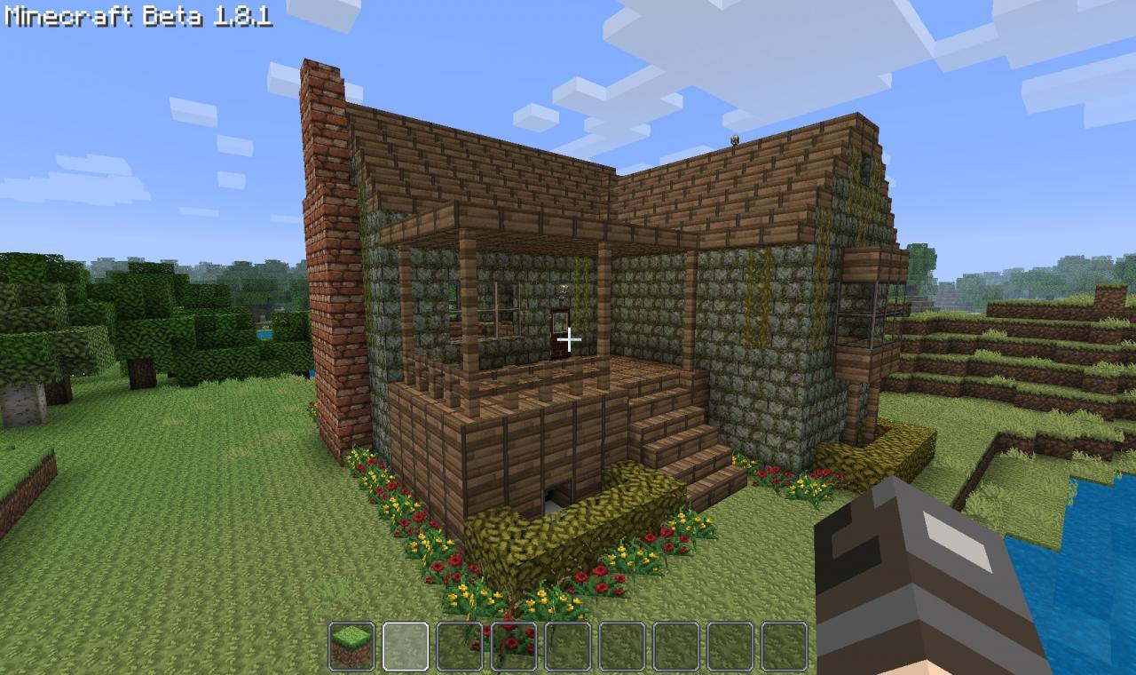 Minecraft Small Living Room