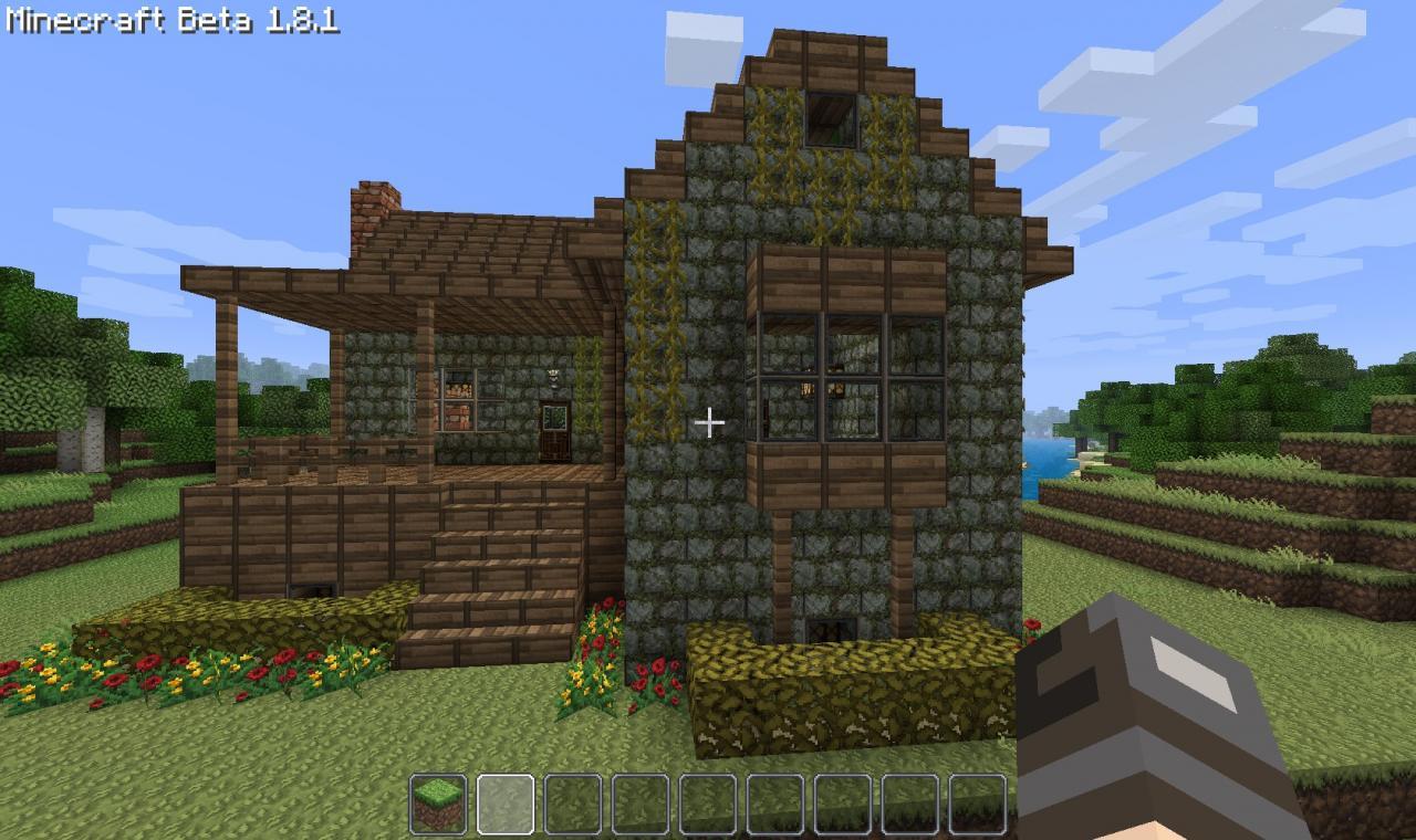 Starter Home Cottage Minecraft Project