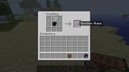 Obsidian Glass Minecraft Mod
