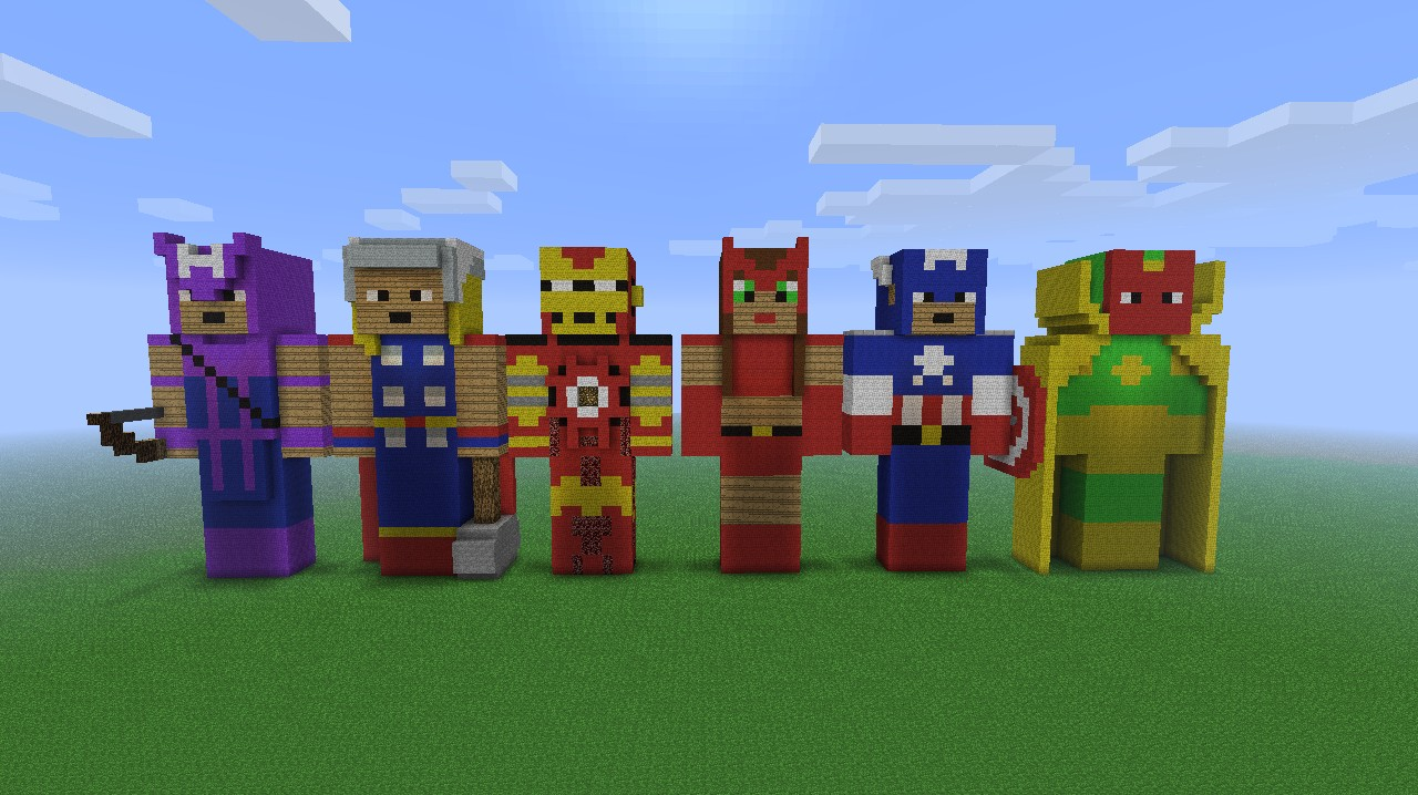 Avengers Tower Minecraft Build