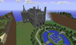 TIMELAPSE - Mithrintia Cathederal Minecraft Map & Project