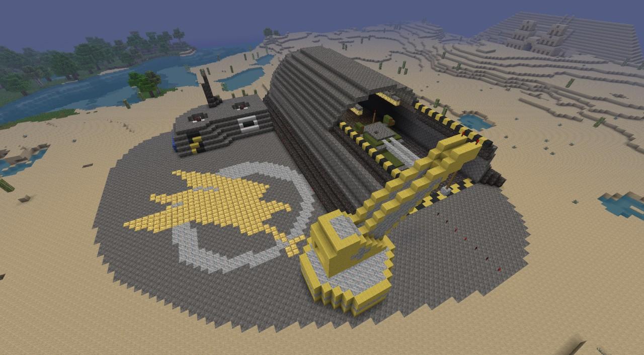 GDI Construction Yard Minecraft Project - Construction Minecraft
