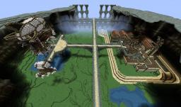 Mining City inside Inactive Volcano (Building Contest Entry to FyreUK) Minecraft Project