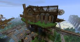 STEAMPUNK FACTORY finished! Minecraft Map & Project