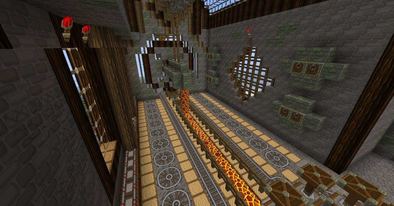STEAMPUNK FACTORY finished! Minecraft Project: www.planetminecraft.com/project/steampunk-factory-finished