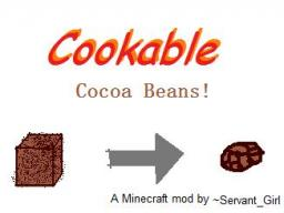 Cookable Cocoa Beans! Minecraft Mod