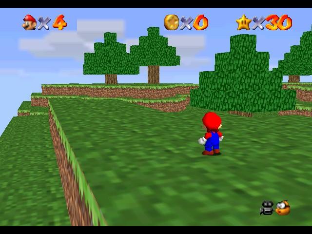 Mario 64 Minecraft hack Minecraft Project