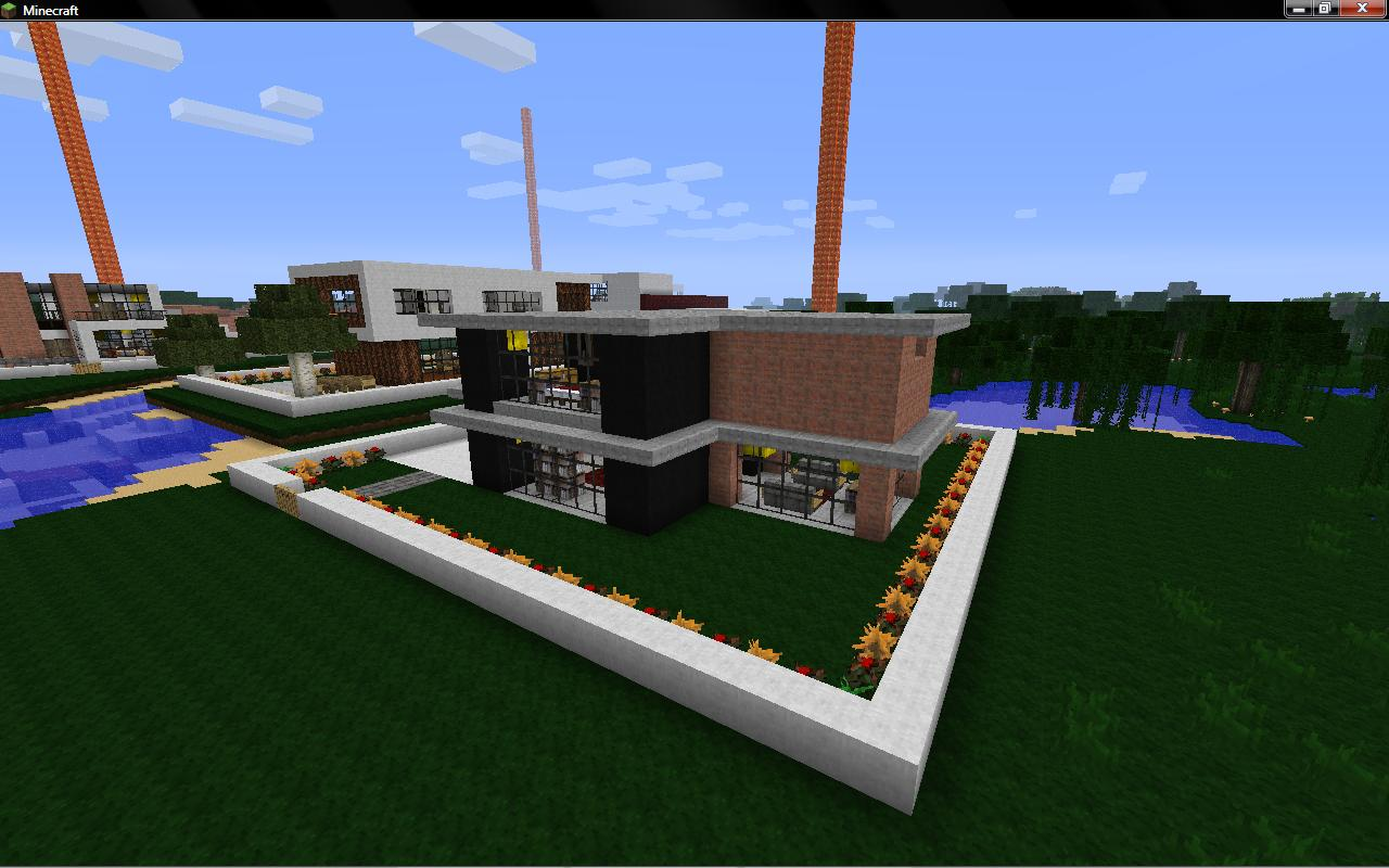 Modern House Real 7 Minecraft Project