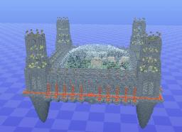Sky Castle Minecraft Map & Project