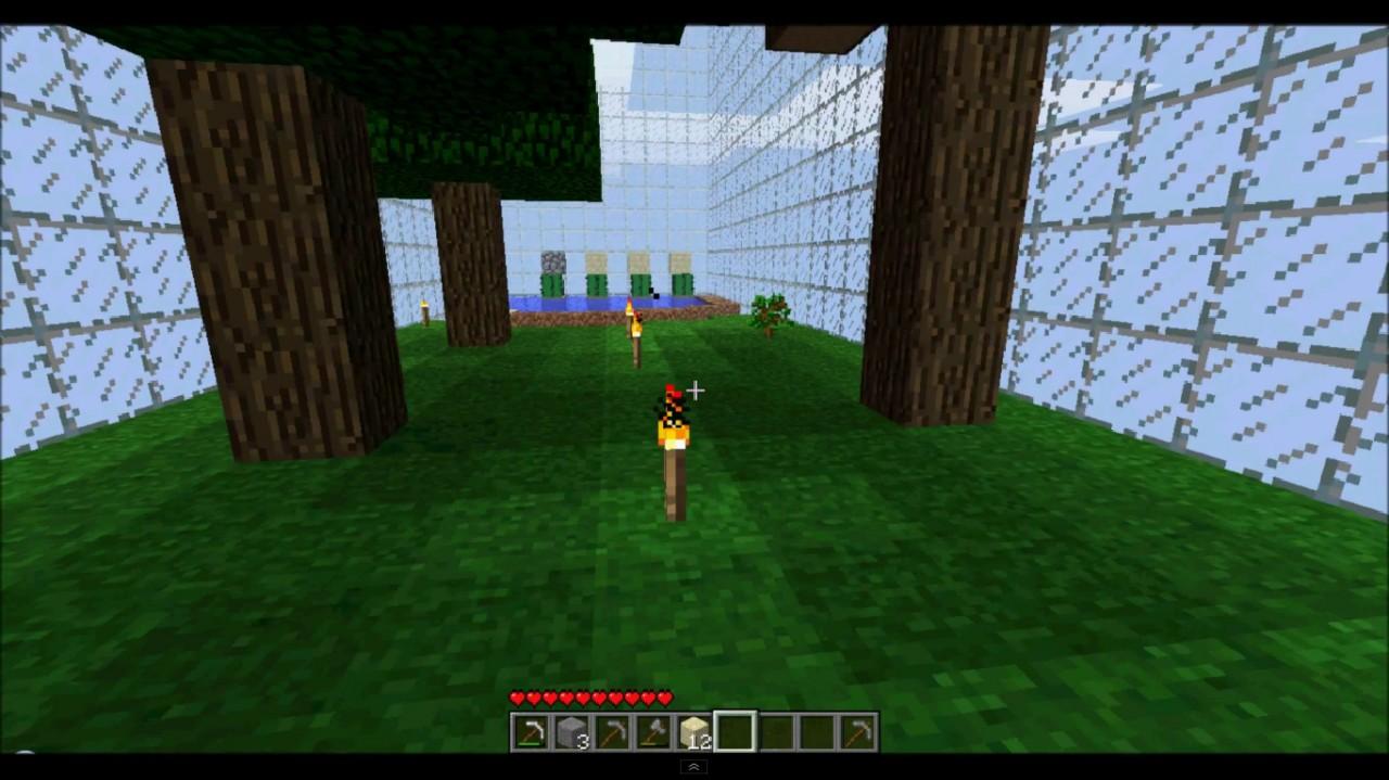 minecraft how to make an automatic iron ingot farm