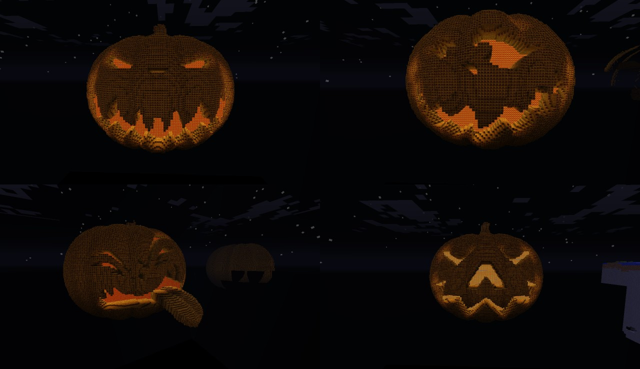 halloween pumpkin collection minecraft project
