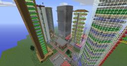 Completed All-In-One Produce Farm Minecraft
