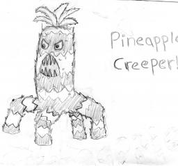 Mob Idea:Pineapple Creepers Minecraft Blog