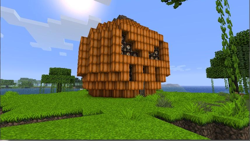 Giant Pumpkin House Minecraft