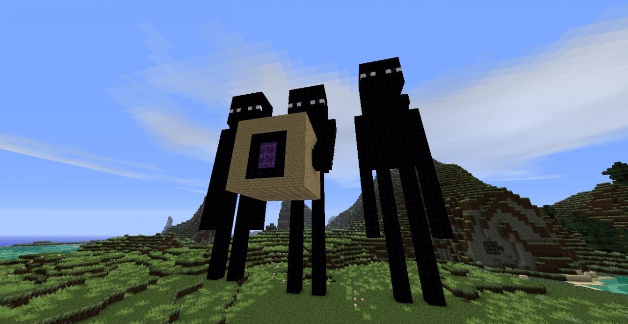 Endermen Portals Minecraft Map