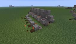RS NOR Latch Array (with video tutorial) Minecraft