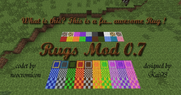 Minecraft Rug Home Decor