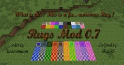[1.4.4/1.4.5] Rugs Mod 1.0.4 now in Extended Decorations Mod included[Forge] Minecraft Mod