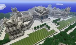 BLENHEIM PALACE - MY LAST PROJECT PRE 1.8 Minecraft