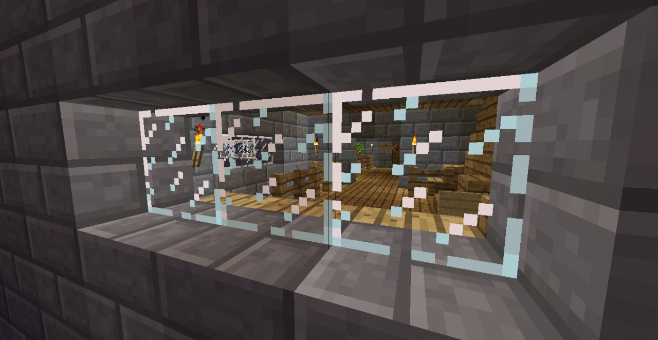 Hotel With Indoor Smimmingpool Minecraft Project