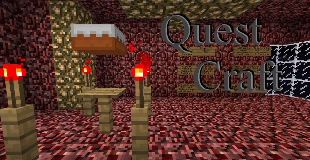 Quest Craft - Open World Custom Map! Minecraft Map