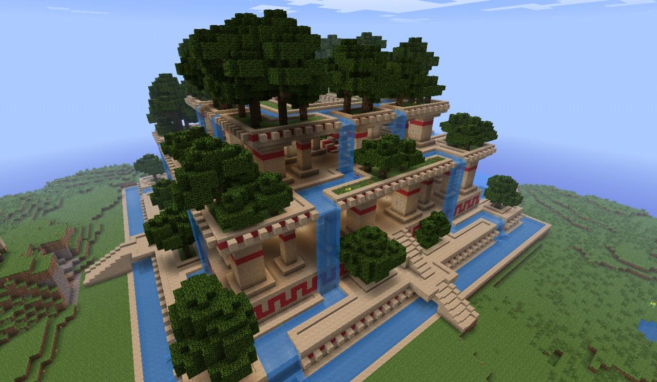 Décoration : Jardin Moderne Minecraft - Rouen 12, Jardin ...