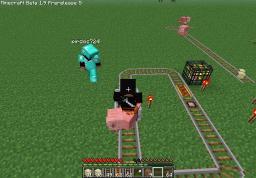 flatgrass big rollercoaster : D Minecraft Project
